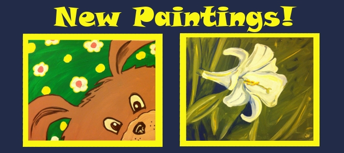 New April Paintings